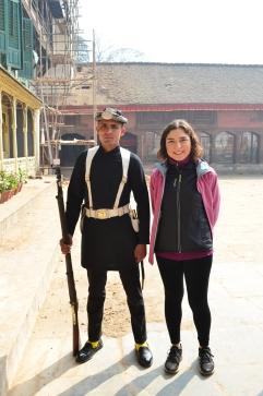 Gurka Askeri ve Birgül:)