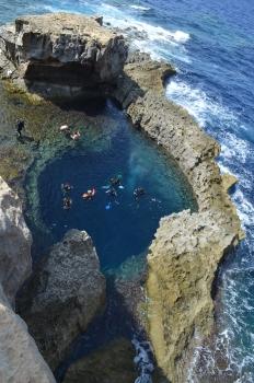 Sualtı mağarası