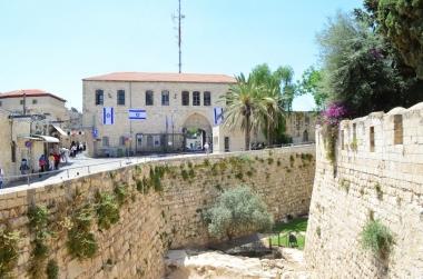 Jaffa Gate'den geçince manzara