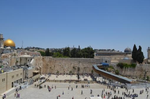 Ağlama Duvarı, Mescid-i Aksa ve Haram Esh Sharif