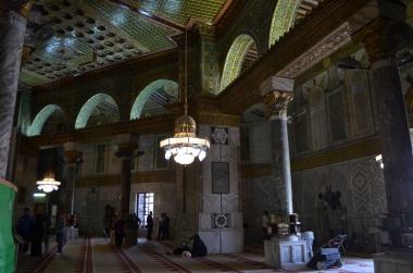 Haram esh-Sharif içi