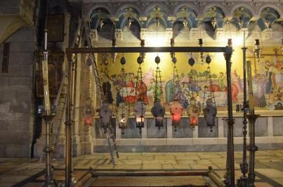 Kutsal Kabir Kilisesi girişi