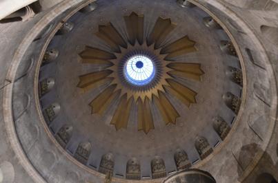 Kutsal Kabir Kilisesi tavanı
