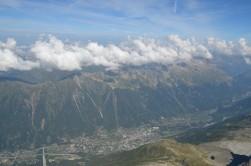 Chamonix manzarası