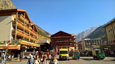 Zermatt tren istasyonu