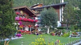 Zermatt'ta bütün evler bir masaldan fırlamış gibi