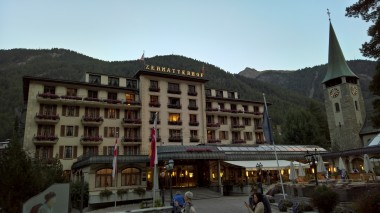 Zermatt'ın en ünlü oteli Zermatterhof