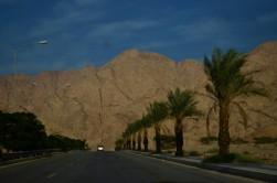 Akabe-Wadi Rum arasındaki yol
