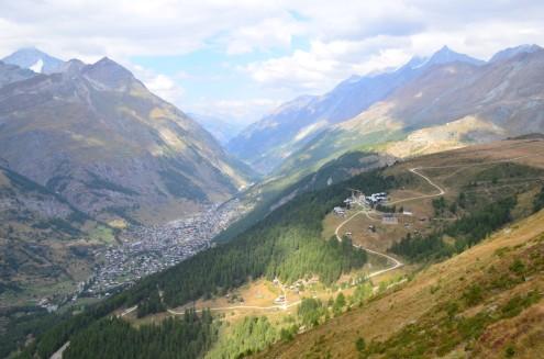 Mark Twain Weg'den Zermatt