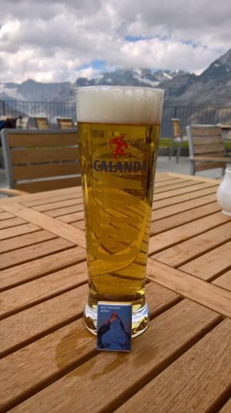 Buz gibi İsviçre birası:)