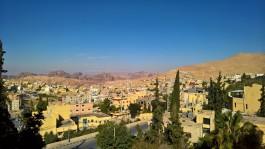 Otelimizden Petra kasabası