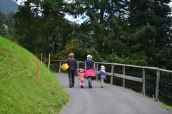 İsviçre'li bir köylü ailesi.