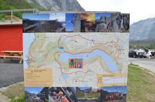 Trolltunga haritası