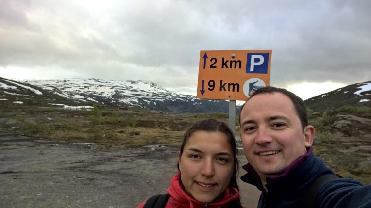 Arabaya sadece 2 km mi kaldı:)
