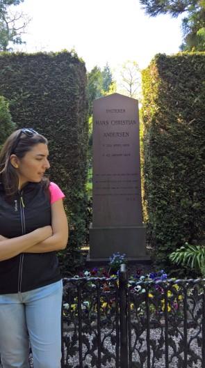 Hans Christian Andersen'in mezarı
