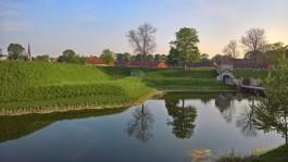 Çok eski bir kale olan ve şuan bir park haline gelmiş Kastellet