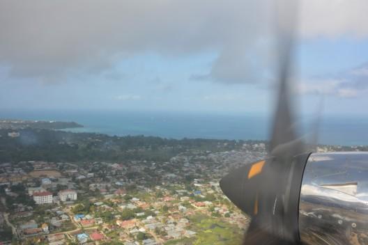 Pırpırlı uçağımızdan Zanzibar