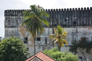Sultan Sarayının duvarları