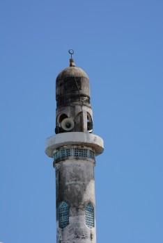 Minarelerin mimarisi bizimkilerden oldukça farklı