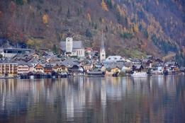 Uzaktan Hallstatt manzarası başlıyor:)