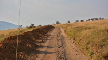 Serengeti Milli Parkı içinde yollar