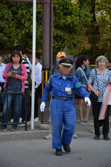 Dünyanın en yaşlı polisini bulduk sanırız