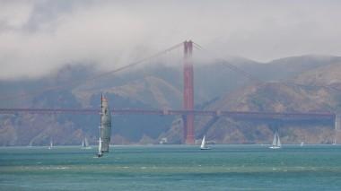 Pier 39'dan Golden Gate Köprüsü