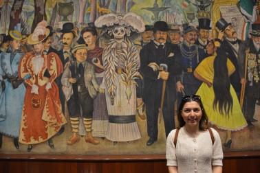 Ulusal Saray'da Diego Rivera'nın duvar resmi