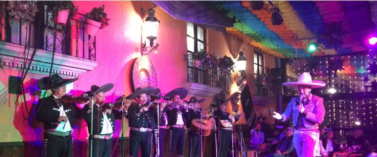 Mariachi Gösterisi